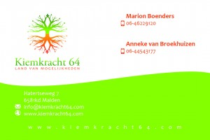 businesscard kiemkracht
